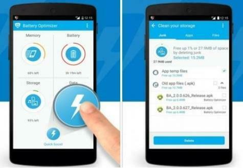 Battery Optimizer & Cleaner – App otimiza o desempenho do Android