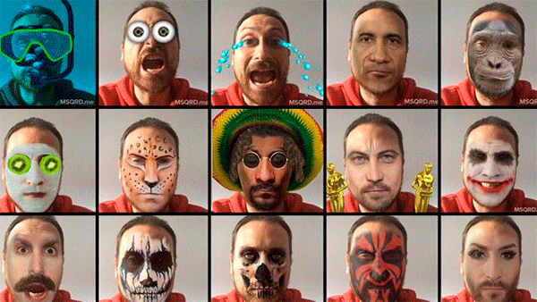Facebook anunciou a aquisição do app Masquerade