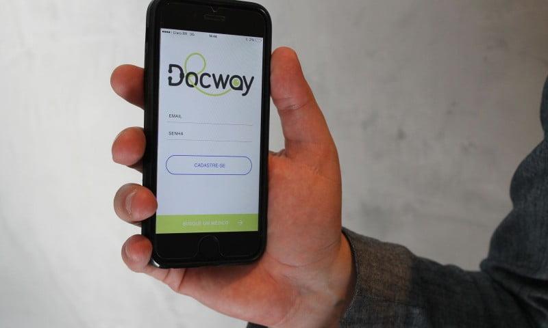 Docway – App permite chamar um médico para atendimento a domicílio