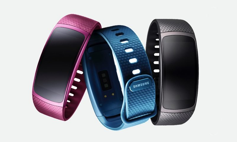 Samsung lançou sua nova pulseira Gear Fit2