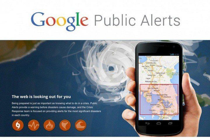 Google lança serviço que informa sobre fenômenos meteorológicos