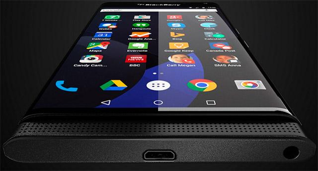 BlackBerry Neon, Argon e Mercury – Novos smartphones com Android