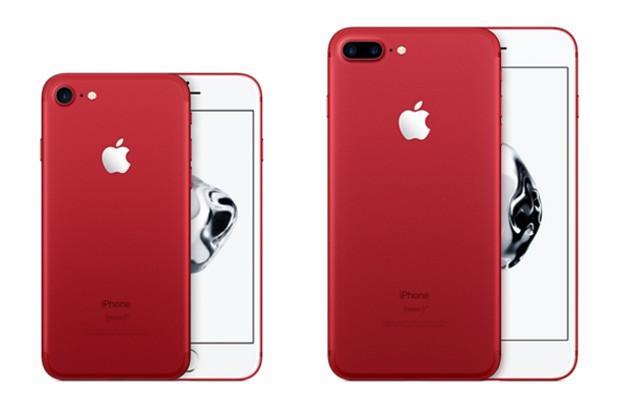 iPhone 7 Vermelho – Lançamento