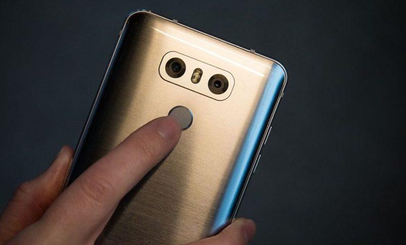 Como Cadastrar a Impressão Digital no LG G6