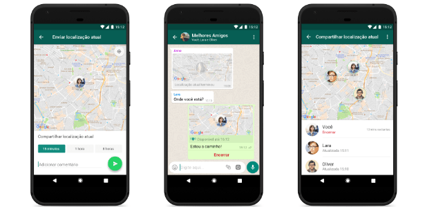 Como Compartilhar a Localização em Tempo Real pelo WhatsApp